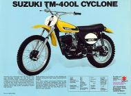 Suzuki TM-400L Cyclone sales brochure