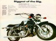 Triumph Trident 750 sales brochure
