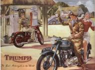 Triumph Motorcycle sales brochure