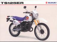 Suzuki TS125ER sales brochure