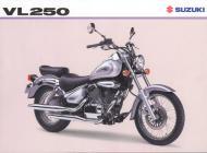 Suzuki VL250 sales brochure