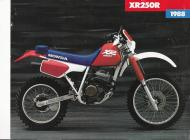 Honda XR250R sales brochure
