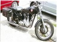 BSA B31 350cc Plunger