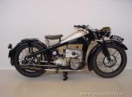 Zundapp flat twin KS500 shaft-drive motorcycle