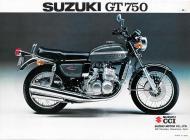 Suzuki GT750 Sales Brochure