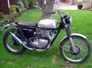 Triumph 5TA Speed Twin ISDT Replica