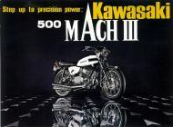 1969 Kawasaki Mach III Advert