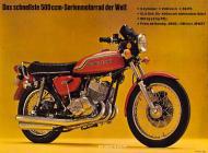 1972 Kawasaki Mach III Advert