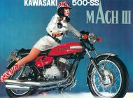 1970 Japan Kawasaki Mach III Advert