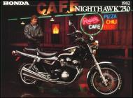 Honda CB750 Nighthawk Advert