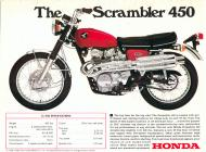 1968 Honda CL450 Advert