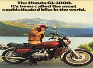 Honda GL1000 Advert