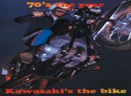 1970 Kawasaki H1 Advert