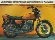 1973 Kawasaki H2 Advert