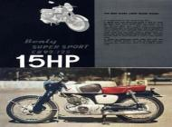 1959 Honda CB92 Advert