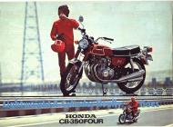 Honda CB-350 Four Advert
