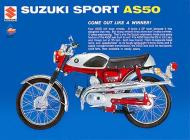 1969 Suzuki AS50 Sales Brochure