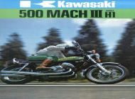 1974 Kawasaki 500 Mach III Advert
