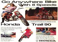 Honda CT90 Sales Brochure