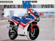 Honda VF1000R Sales Brochure