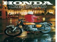 1971 Honda CB750 K1 Advert