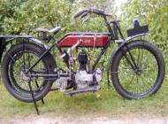 1921 AGA JAP Motorcycle