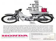 Honda Cub Advert