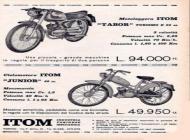 Itom Motorcycle Advert