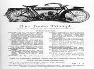 Triumph Junior Advert