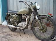 Ex British army BSA B40