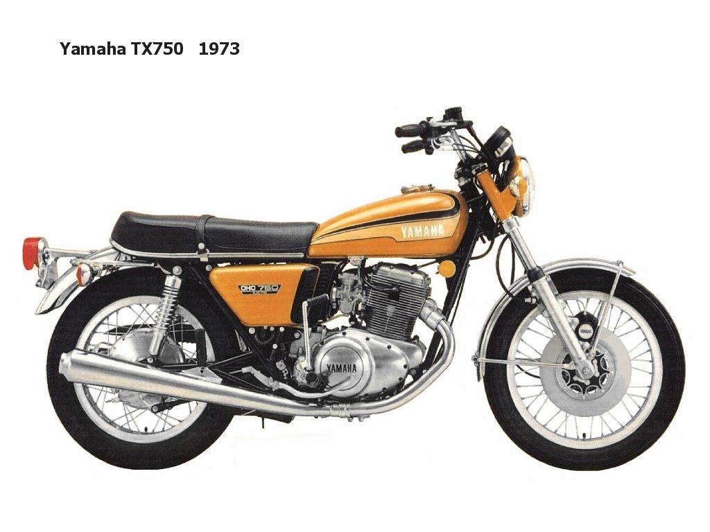 Yamaha tx750 classic motorbikes for Yamaha suzuki of texas