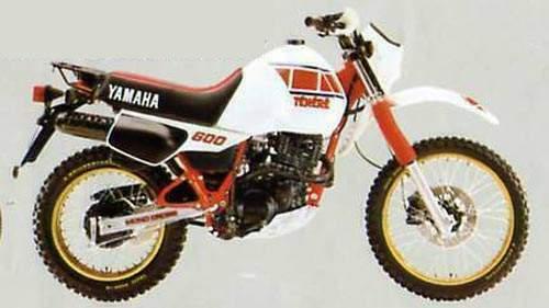 yamaha xt600 gallery classic motorbikes 1992 suzuki 250 quad wiring yamaha xt 600 teneré