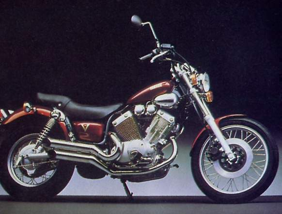 yamaha xv535 virago gallery classic motorbikes. Black Bedroom Furniture Sets. Home Design Ideas