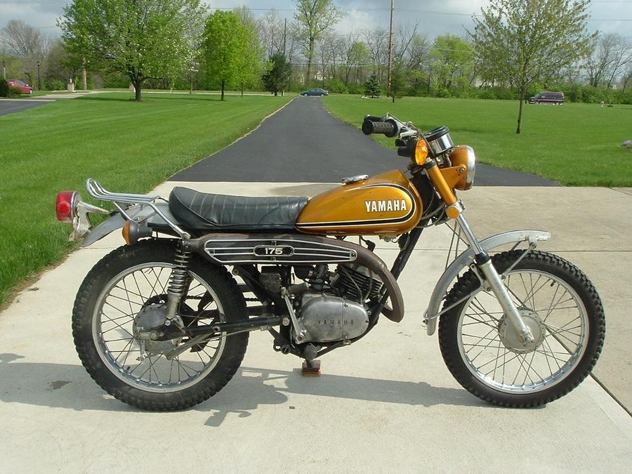 Yamaha classic motorcycles classic motorbikes for 1973 yamaha yz80