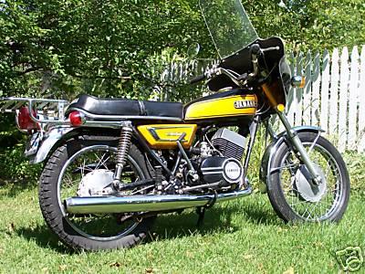 Yamaha ds7 classic motorbikes for Yamaha 350cc motorcycles