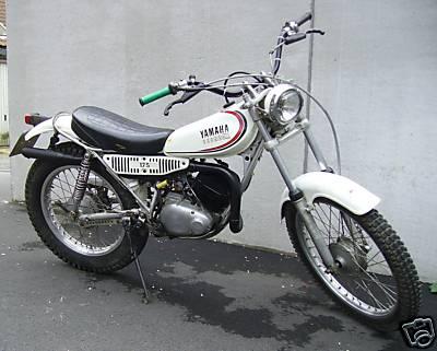 yamaha ty175 gallery classic motorbikes rh classic motorbikes net Yamaha TY 175 Trials Bike Yamaha CT1