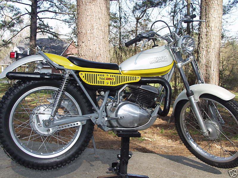 Yamaha Ty250 Gallery