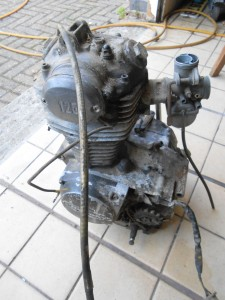 Honda SL125 engine
