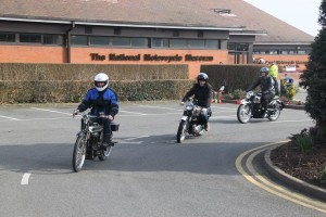 Museum Friends Ride A Classic Day-New Comet, RGS & Venom