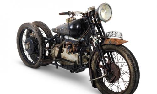 The ex-Hubert Chantrey 1932 Brough Superior 800cc Model BS4 Project