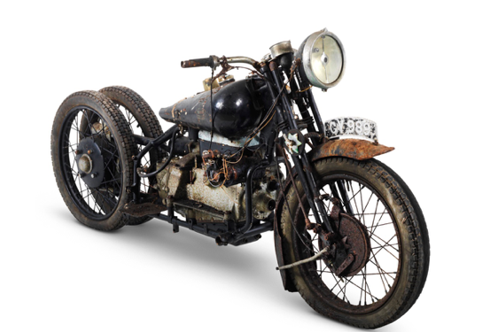The ex-Hubert Chantrey 1932 Brough Superior 800cc Model BS4 Project