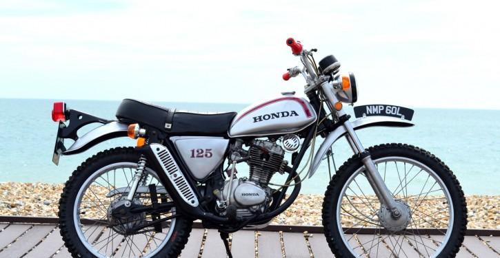 Honda SL125 Street Scrambler