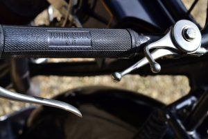 Originality appreciated, the John Bull grips maybe worn but have years more motoring left