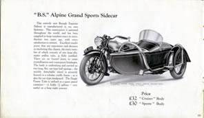 Brough Superior Alpine Grand Sports Sidecar