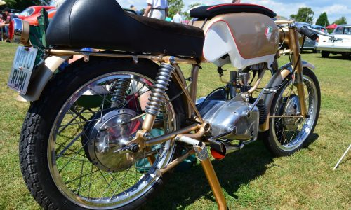Race ready machine from 1960 the Rumi Junior 125