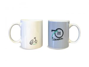 70th Anniversary Vespa Mug