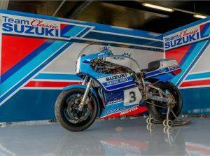 Classic Suzuki at the Isle of Man TT
