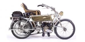 1907 Vindec Special 5hp & Graham Brothers Sidecar,