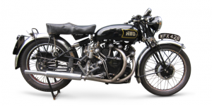 1948 Vincent-HRD 998cc Series-B/C Black Shadow