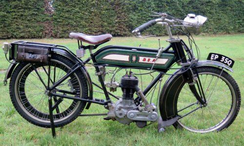 1913 Triumph Model D 3.5 TT machine